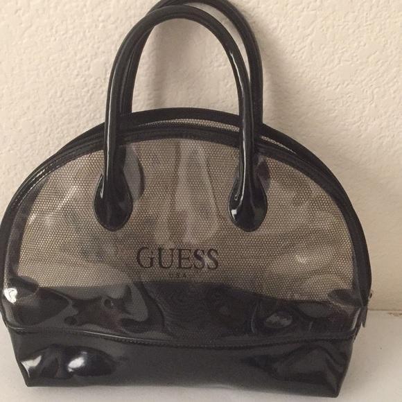 df0912ed78e1 Guess Handbags - Guess clear handbag